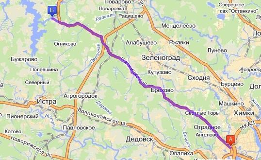 Истринское водохранилище: http://www.korenky.narod.ru/istra.html